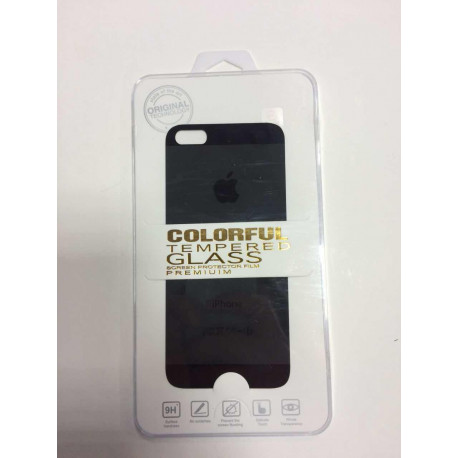 front and back iphone 5/5s glass screen protector