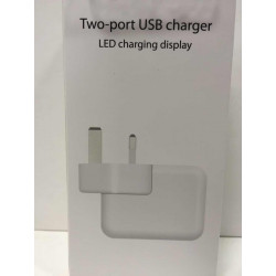 iPad charger TWO USB